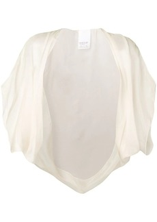 Max Mara silk shawl top