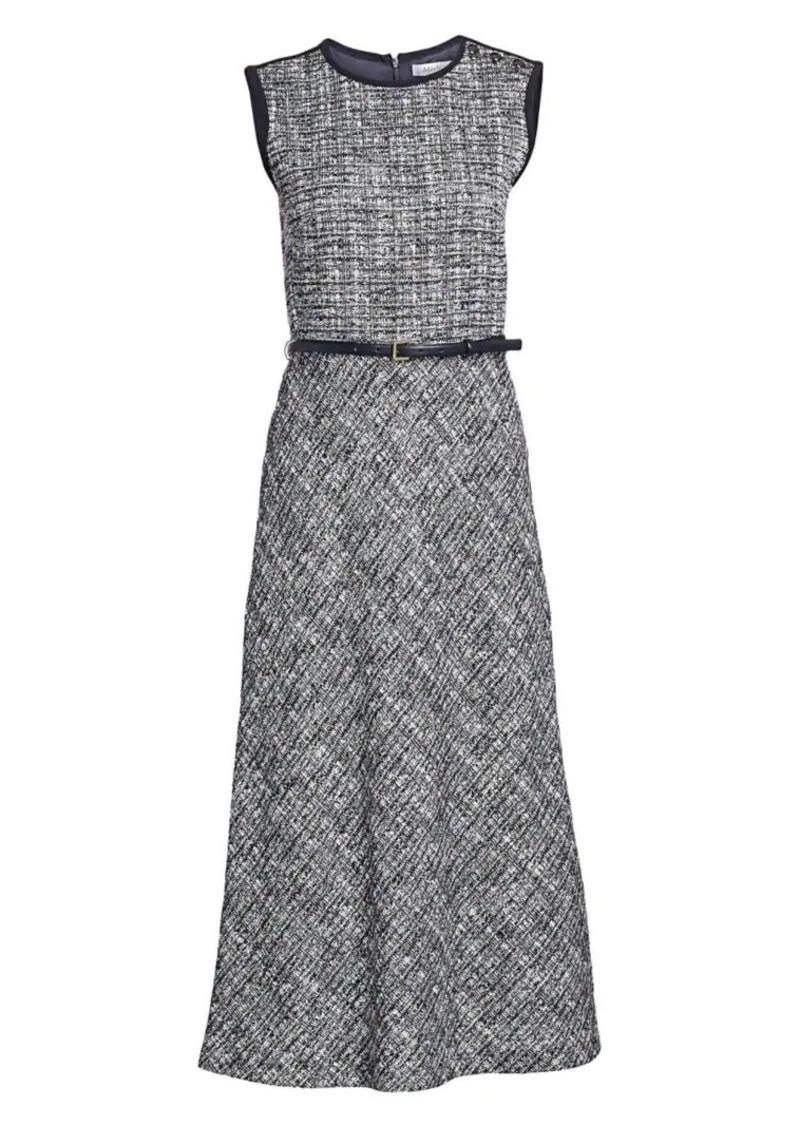 Max Mara Spadino Belted Midi Dress