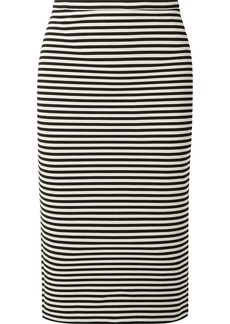 Max Mara Striped Stretch-knit Pencil Skirt