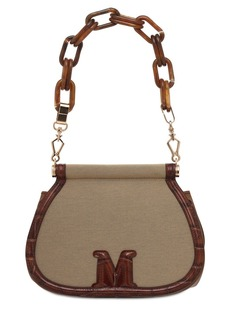 Max Mara Sylvi3 Shantung Shoulder Bag