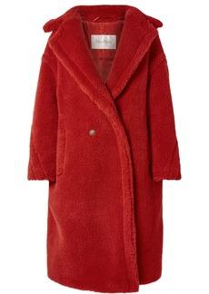 Max Mara Teddy Bear Camel Hair And Silk-blend Coat