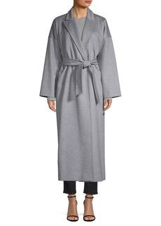 Max Mara Teti Drop Shoulder Cashmere Wrap Coat