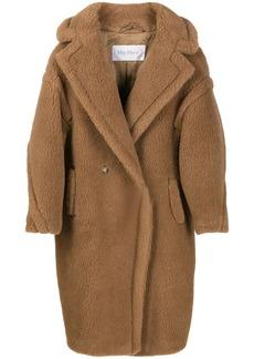 Max Mara textured oversized double breasted coat