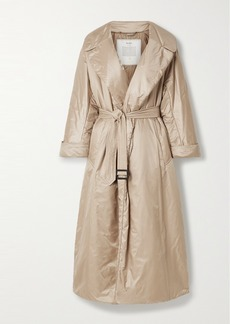 Max Mara The Cube Cameluxe Belted Shell Coat