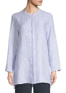 Max Mara Tobia Linen Stripe Tunic