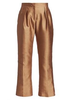 Max Mara Venere Shantung Silk Pants