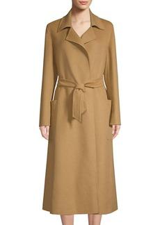 Max Mara Viadana Wrap Camel Coat