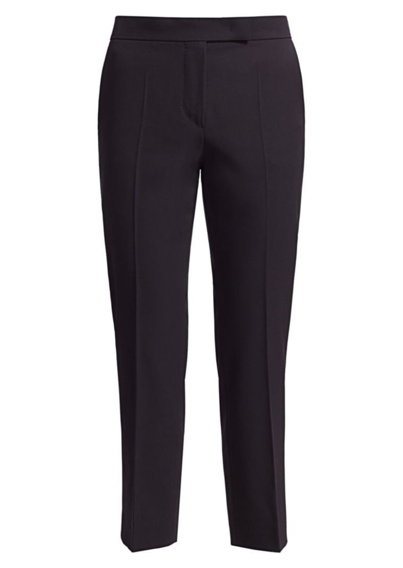 Max Mara Vicolo Wool Crepe Slim-Cut Pants