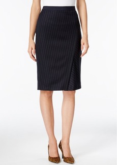 Weekend Max Mara Pinstripe Pencil Skirt