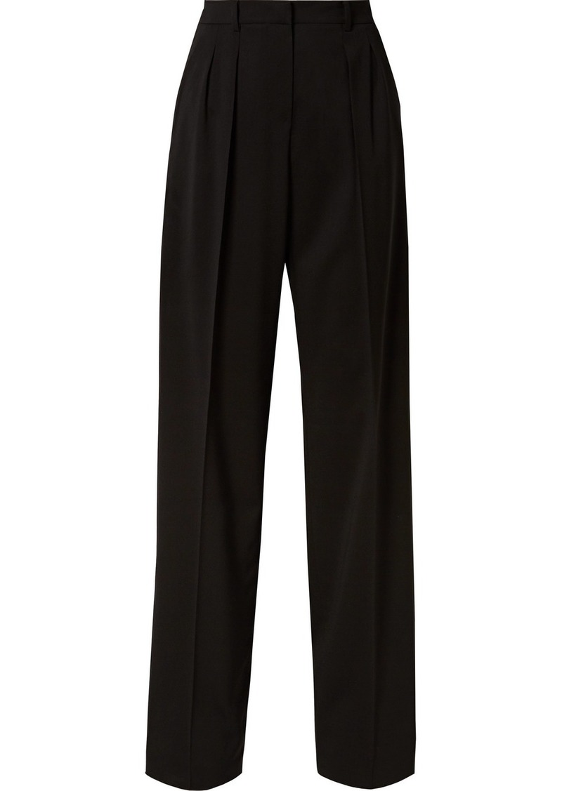 Max Mara Wool Wide-leg Pants