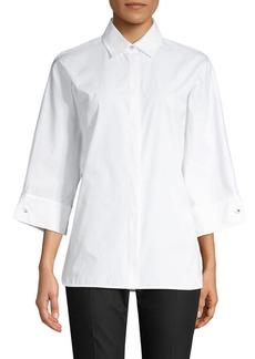 Max Mara Xanadu Kimono-Sleeve Shirt