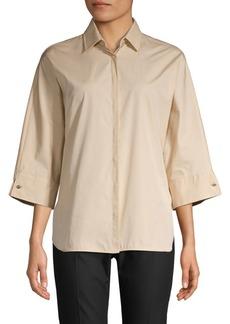 Max Mara Xandadu Kimono-Sleeve Shirt
