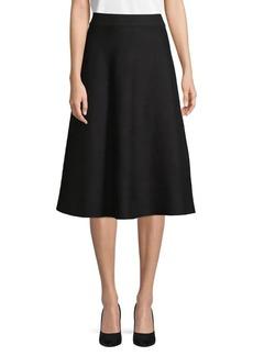 Max Studio A-Line Swing Skirt
