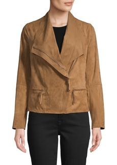 Max Studio Asymmetrical Zip-Front Jacket