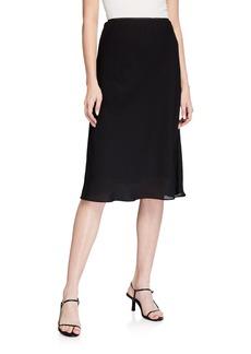 Max Studio Bias-Cut Slim Skirt