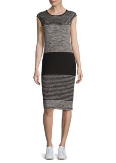 Max Studio Cap Sleeve Sheath Dress