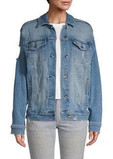 Max Studio Classic Denim Jacket