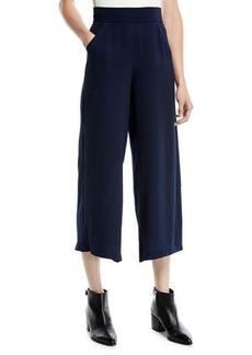 Max Studio Crepe Culottes Pants