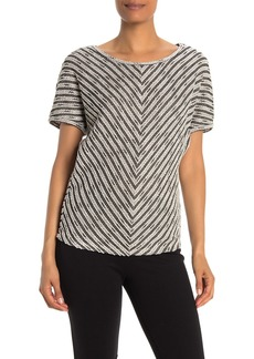 Max Studio Dolman Short Sleeve Knit Top