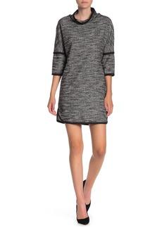 Max Studio Drop Shoulder Woven Dress