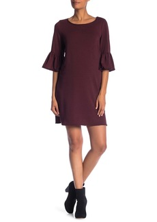Max Studio Elbow Bell Sleeve Dress