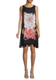 Max Studio Floral Shift Dress