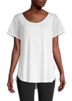 Max Studio Halo Mesh T-Shirt