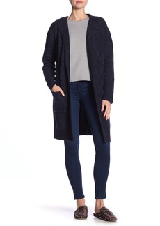 Max Studio Hooded Longline Cardigan