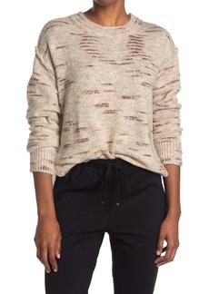 Max Studio Long Sleeve Crew Neck Sweater
