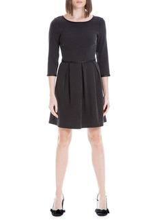 Max Studio Dot-Print A-Line Dress