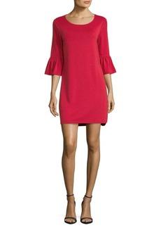 Max Studio Flare-Sleeve Dress