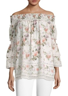 Floral Off-Shoulder Top