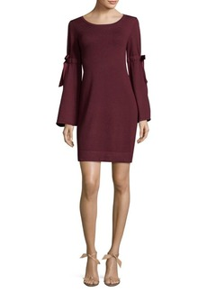 Max Studio Heathered Sweater Dress