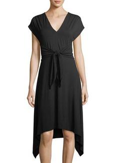 Max Studio High-Twist Jersey Dress