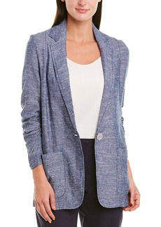Max Studio Linen-Blend Jacket