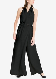 Max Studio London Belted Wide-Leg Jumpsuit, Created for Macy's