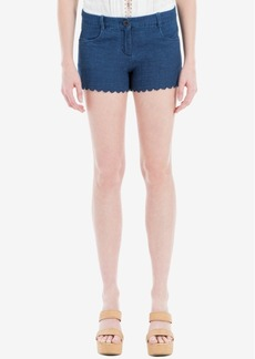 Max Studio London Cotton Denim Shorts