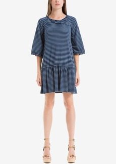 Max Studio London Cotton Drop-Waist Dress
