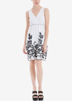 Max Studio London Embroidered Empire-Waist Dress, Created for Macy's