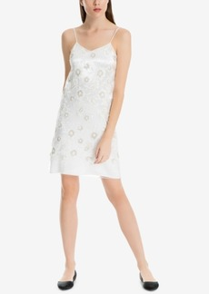 Max Studio London Embroidered Sequined Slip Dress, Created for Macy's