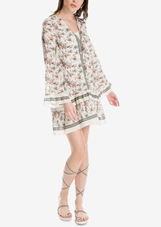 Max Studio London Floral-Print Ruffled Dress, Created for Macy's
