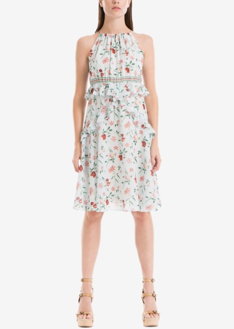 Max Studio London Floral-Print Shift Dress
