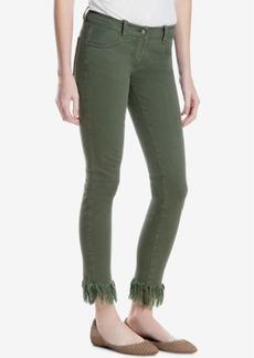 Max Studio London Frayed-Hem Skinny Jeans, Created for Macy's