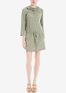 Max Studio London Heathered Hoodie Dress
