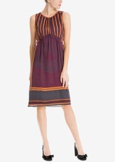 Max Studio London Mixed-Print Dress