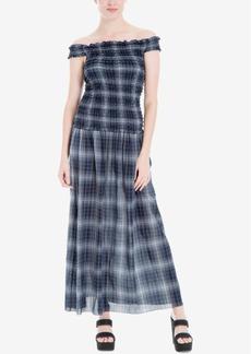 Max Studio London Off-The-Shoulder Maxi Dress