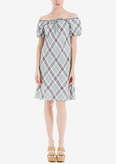 Max Studio London Off-The-Shoulder Shift Dress