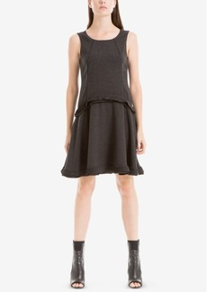 Max Studio London Pleated A-Line Dress