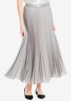 Max Studio London Pleated Metallic Skirt, Created for Macy's