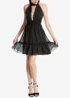 Max Studio London Printed Choker Dress, Created for Macy's